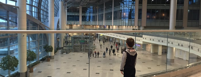 Domodedovo International Airport (DME) is one of Posti che sono piaciuti a Olga.