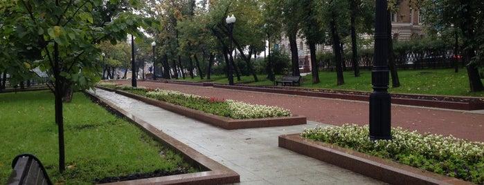 Сретенский бульвар is one of Olgaさんのお気に入りスポット.