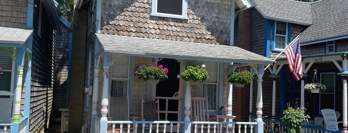 Gingerbread Village is one of Martha's Vineyard.
