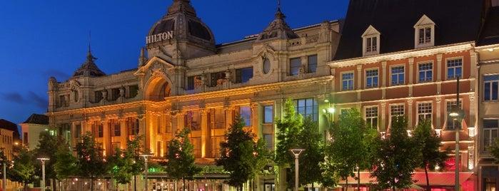 Hilton Antwerp Old Town Maritime Bar is one of Antwerp.