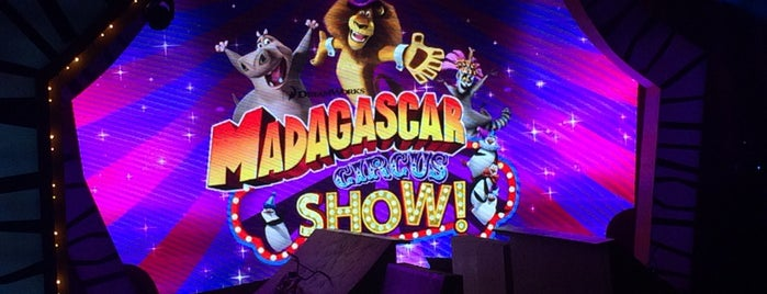 Madagascar Circus Show is one of Rafaelさんのお気に入りスポット.