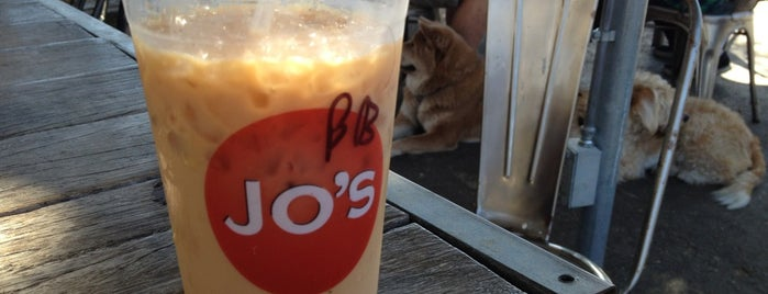 Jo's Coffee is one of Booze, BBQ, and Breakfast Tacos in Austin.
