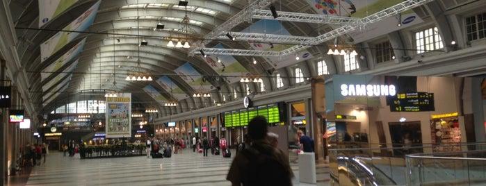 T-Centralen (Flygsektionen) is one of Lugares favoritos de Orhan Veli.