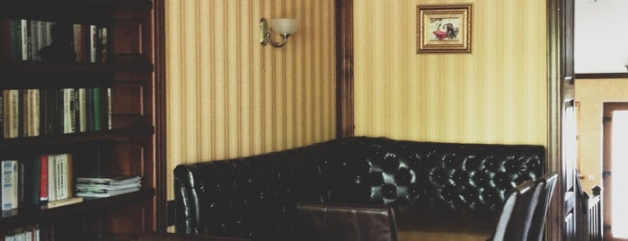 Бломанже Lounge Café is one of Lieux sauvegardés par Olli.