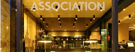 The Association is one of Specialty Coffee Shops (London).