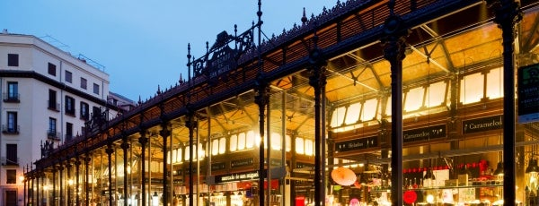 Mercado de San Miguel is one of Mis sitios Madrid!.