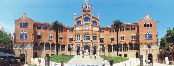 Hospital de la Santa Creu i Sant Pau is one of Barcelona, Spain.