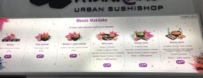 Makitake is one of マドリード - 昼ごはん + 晩ごはん (ひるごはん + ばんごはん).