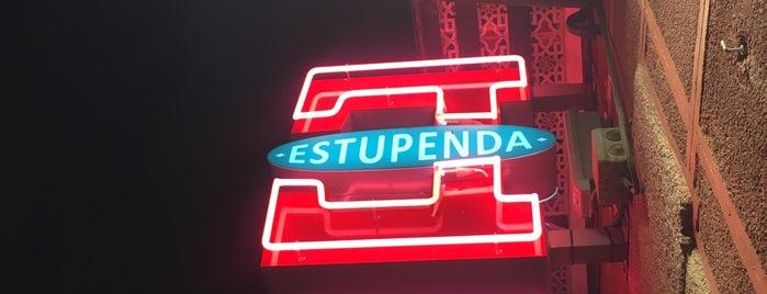 Estupenda is one of Madrid tomar algo.