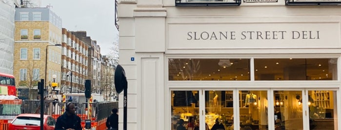 Sloane Street Deli is one of London.