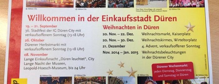 CityMa Düren is one of Kooperation.