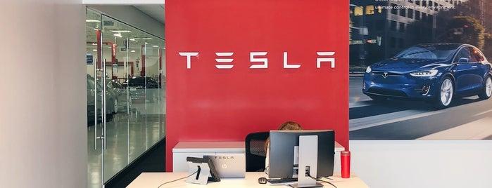 Tesla Service Center is one of Mark : понравившиеся места.