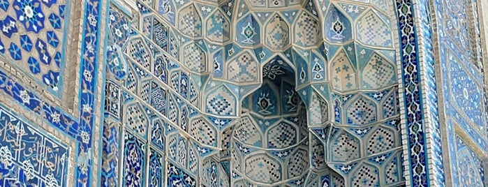 Go'ri Amir is one of Samarqand.