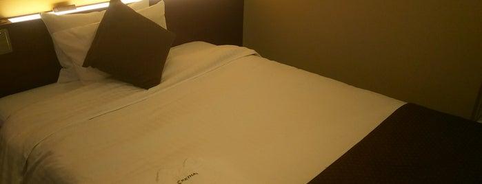 Hotel Keihan Sapporo is one of Lieux qui ont plu à Kazu.