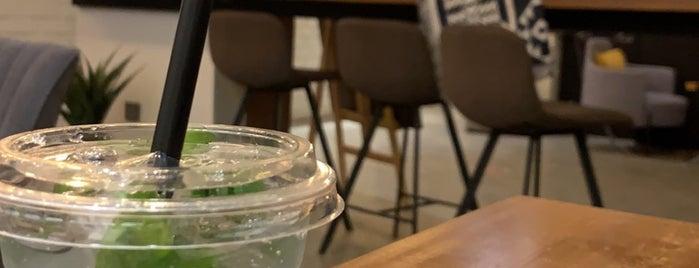 Nine Bar 9B ناين بار is one of Coffee shops   Riyadh ☕️🖤.