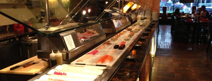 POC American Fusion Buffet & Sushi is one of Locais curtidos por Manolo.