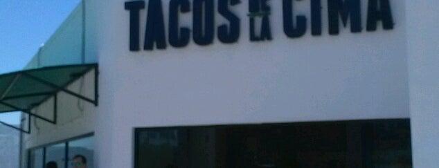 Tacos de la Cima is one of Tempat yang Disukai Sandra.