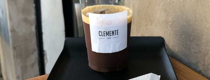 Clemente Café is one of Locais curtidos por Guilherme.