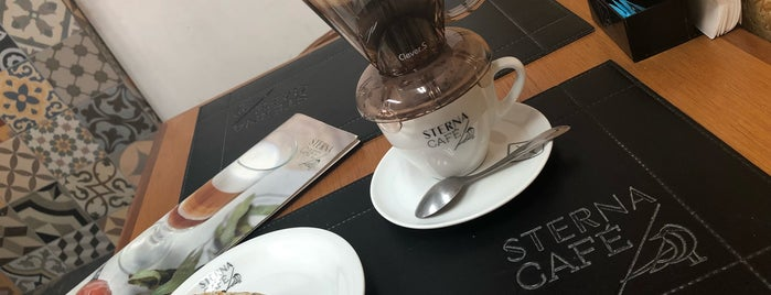 Sterna Café is one of Café.
