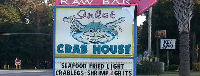 Inlet Crab House is one of Lieux sauvegardés par Lizzie.
