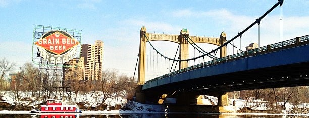Father Louis Hennepin Bridge is one of Bridges in Minneapolis-St. Paul.