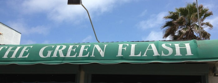 The Green Flash is one of San Diego Must Eats.