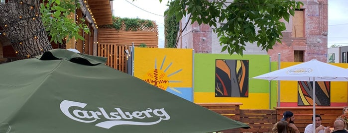 Recess Beer Garden is one of 2018/2019 Denver Dining Out Passbook.