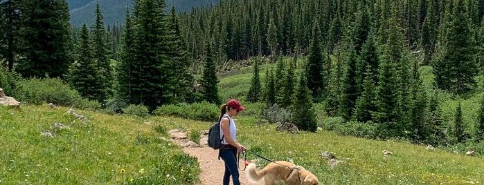 Herman Gulch Trailhead is one of Colorado.