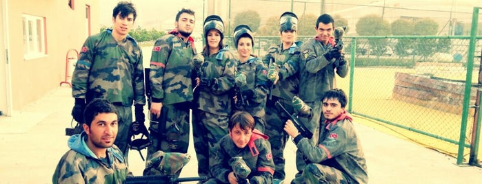 Afium Paintball is one of mekanlarım.