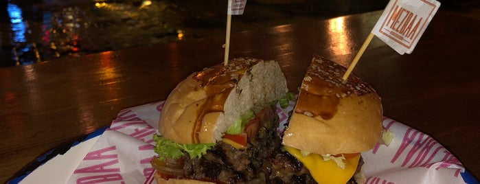 MEZBAA Steak&Burger is one of Istanbul to go.