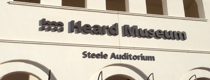 Heard Museum is one of Phoenix New Times.