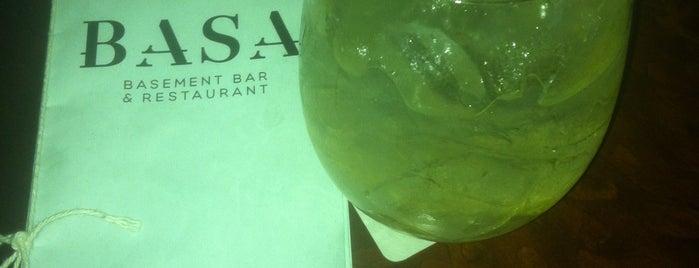 BASA - Basement Bar & Restaurant is one of #BsAsFoodie (Dinner & Lunch).