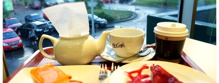 McCafé is one of Кофе.