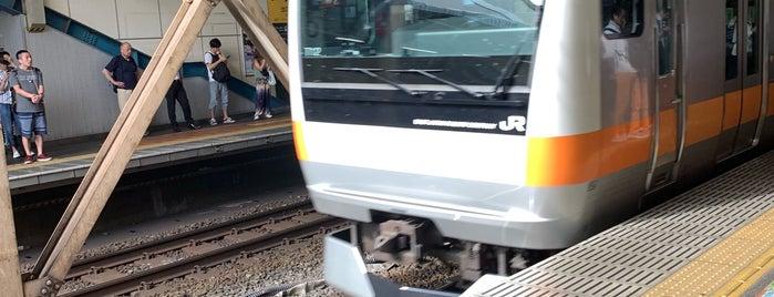 JR中央線 西国分寺駅 is one of Lugares favoritos de ジャック.