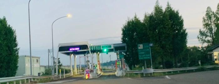 小千谷IC is one of 関越自動車道.