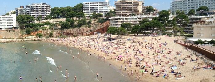 Platja dels Capellans is one of Playas de España: Cataluña.