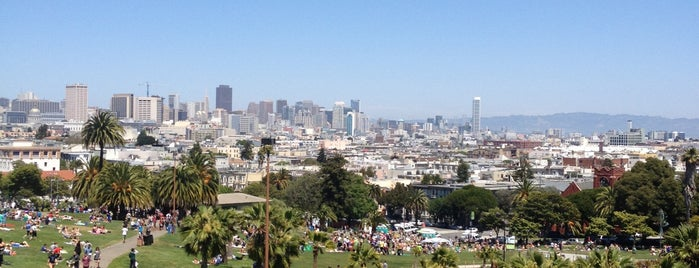 Mission Dolores Park is one of Go Ahead, Be A Tourist.