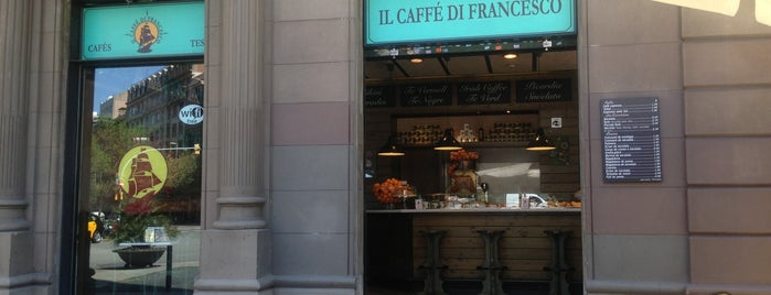 Il Caffé di Francesco is one of Livin' It In Barcelona.