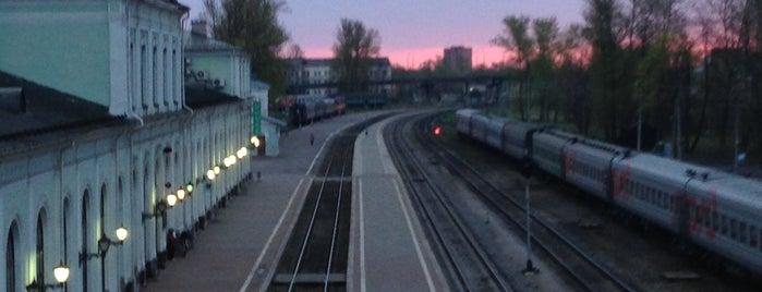 Железнодорожный вокзал Псков / Pskov Railway Station is one of Илья 님이 좋아한 장소.