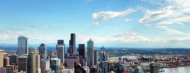 Space Needle: Observation Deck is one of Seattle, WA.
