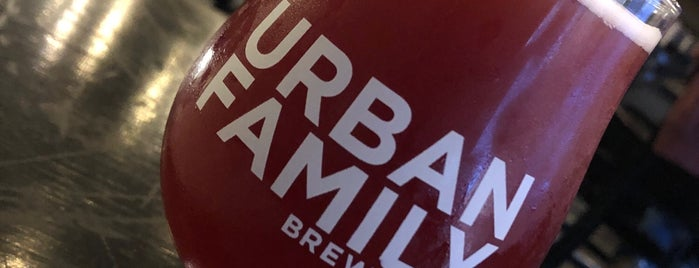 Urban Family Brewing Co. is one of Wednesday adventures.