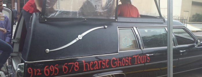 the Hearse Ghost Tour is one of Paranormal Sights.