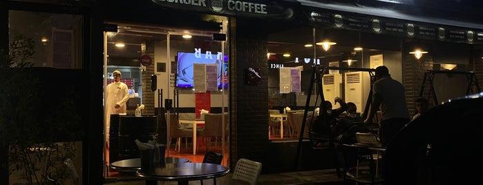 The Garage Burger & Coffee is one of Gespeicherte Orte von Abdullah.