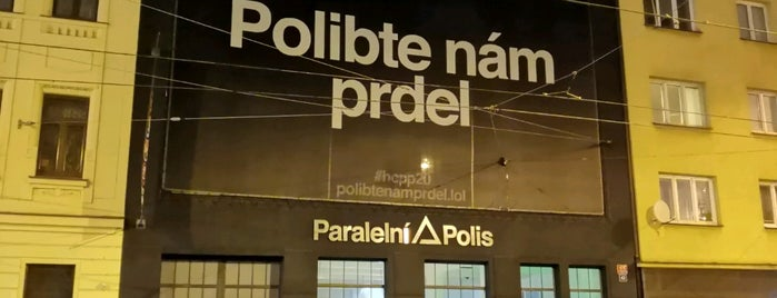 Paralelní Polis is one of Cafe.