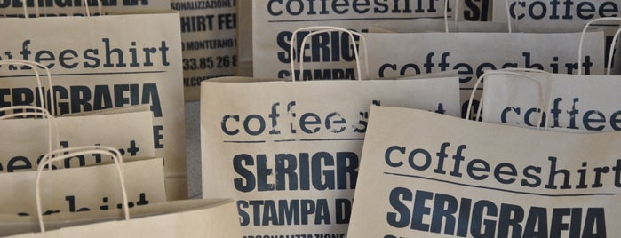 Coffeeshirt is one of สถานที่ที่ Maddalena ถูกใจ.