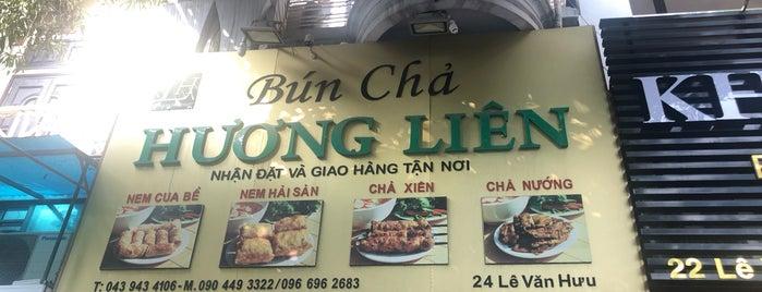 Bún Chả Hương Liên is one of Isabel : понравившиеся места.