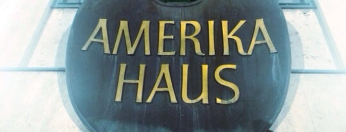 Amerikahaus is one of Munich Social.