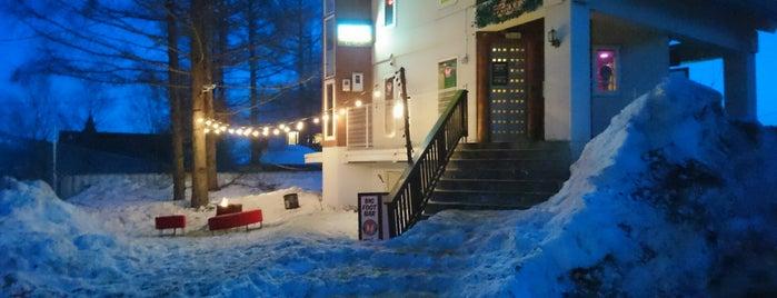 Bigfoot Lodge is one of Japan skiing.