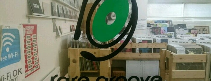 rare groove is one of Record Stores Worldwide.
