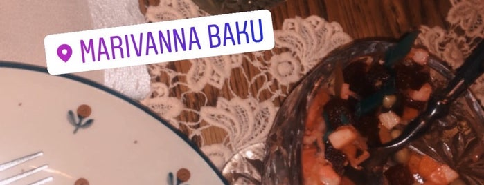 Mari Vanna is one of Best places in Baku.